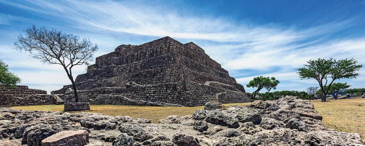 Zonas arqueologicas guanajuato canada virgen