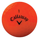 Callaway Superhot Bold Matte Golf Balls, Red - 15 count