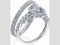 Verragio Halo Engagement Ring with Round Brilliant Diamonds INS 7003