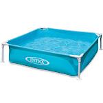 Intex 57173EP 4ft x 12in Mini Frame Kiddie Beginner Frame Swimming Pool, Blue by VM Express