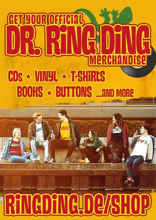 Here is a new flyer for our online shop!... - Dr. Ring Ding Ska-Vaganza