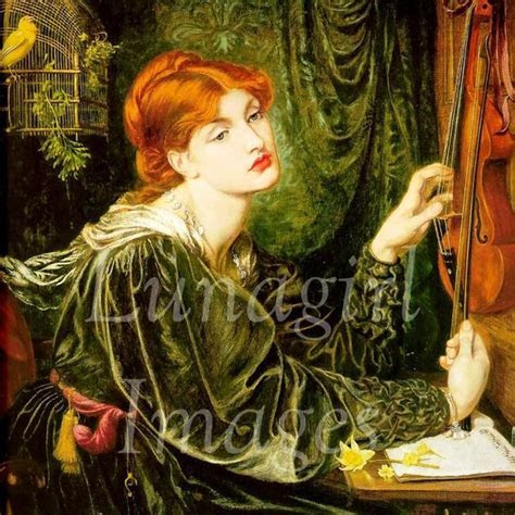 PreRaphaelite paintings by Waterhouse, Rossetti. Digital