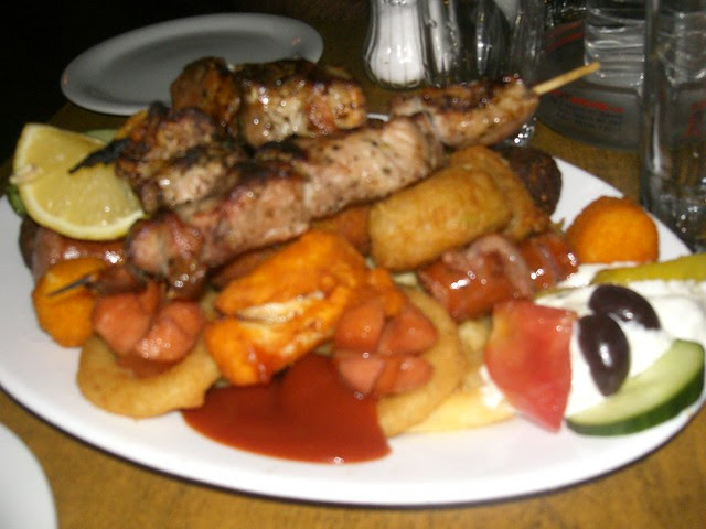 poikilia - mixed meat grill