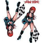 """Lethal Threat Por Vida Decal Sticker Car Truck SUV Bike Wall 6""""x8"""""""