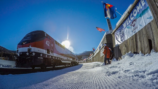 All Aboard the Winter Park Express Ski Train