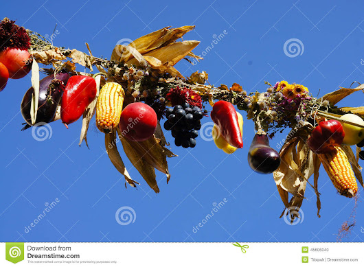 Harvest Of The Fall Stock Photo - Image: 45606040