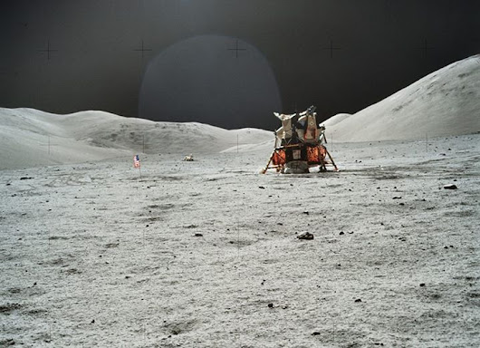 Over 8,400 NASA Apollo moon mission photos just landed online, in high-resolution