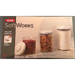 OXO Softworks 3-Piece Airtight Pop Round Canister Set