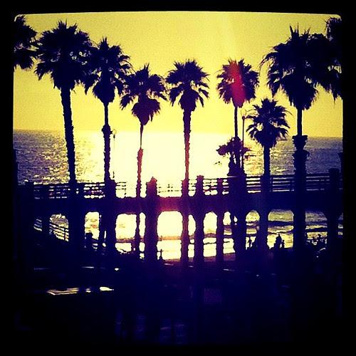 Postcard:  Oside Pier