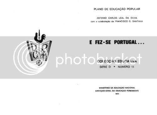 Página de rosto do volume intitulado E Fez-se Portugal.