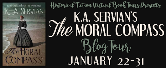 The Moral Compass by K.A. Servian - Interview & Giveaway