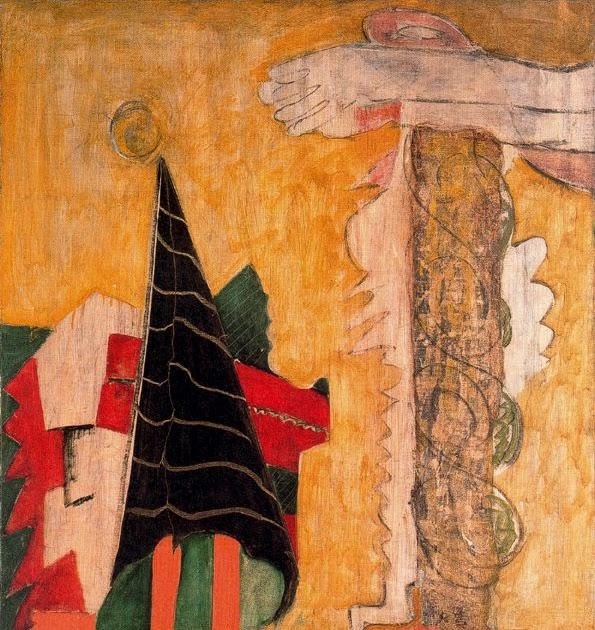 Art of the Day: Mark Rothko, Sacrifice of Iphigenia