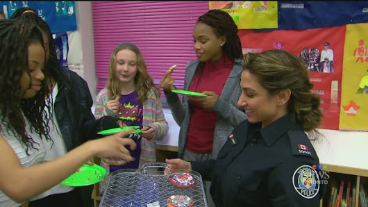 CTV Toronto: Police officer mentors young girls