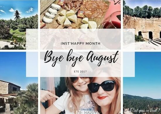 Inst'happy month ! Bye bye august!