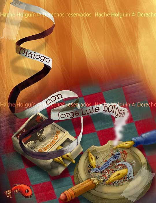 Ilustración digital por Hache Holguin, Hugo Holguín