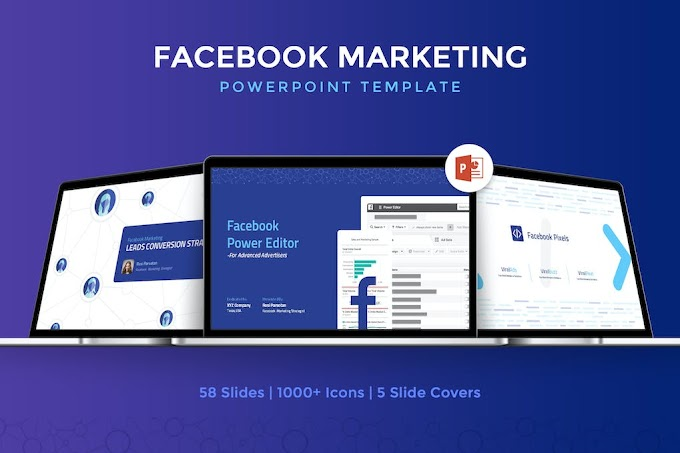 Facebook Marketing Powerpoint Template