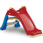 American Plastic Toys Portable Indoor & Outdoor Folding Baby Toddler Slide, Red by VM Express