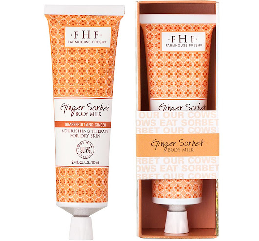 Ginger Sorbet Body Milk Travel Lotion