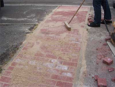 How to Repair Cracked Concrete Paths Including Brick and Block Paving and Tarmac Driveways