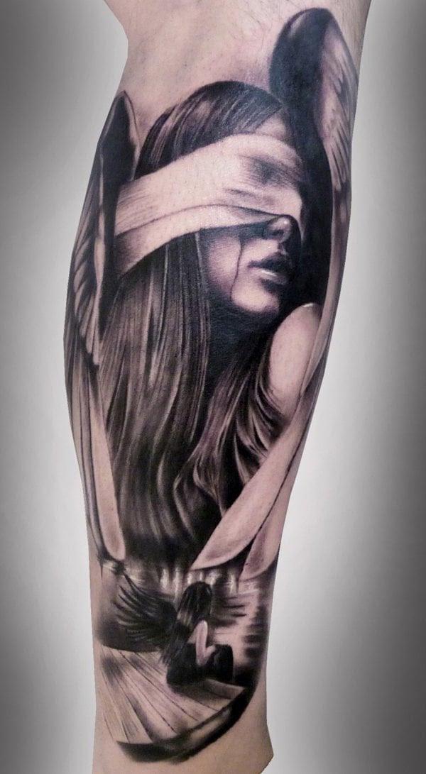Bedeutung tigerkopf tattoo frau mit 250+ Tattoos