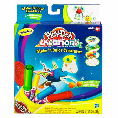 PLAY-DOH: PLAY-DOH CREATIONS - Make 'N Color Creatures