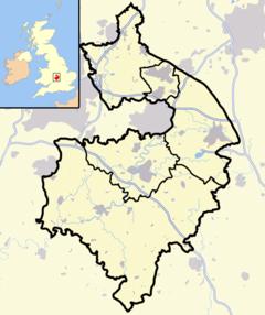 Warwick is located in Warwickshire