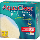 AquaClear Foam Filter Insert, 50 Gallon - 3 pack