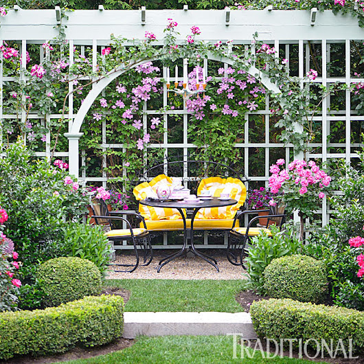 Before and After: Enchanting English Garden