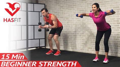 min beginner weight training  beginners workout