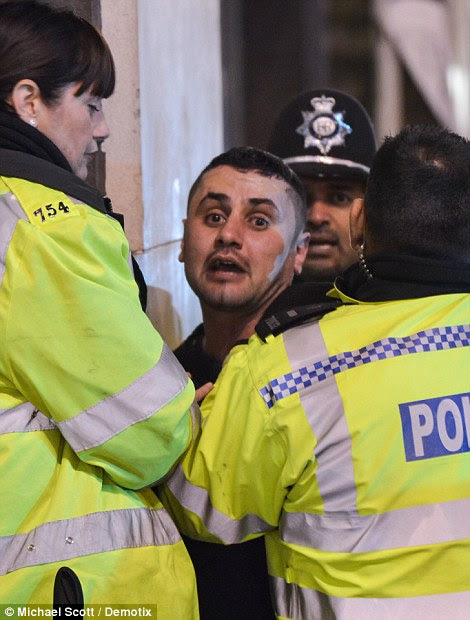 This man was arrested for allegedly assaulting a bouncer during New Year's Eve celebrations
