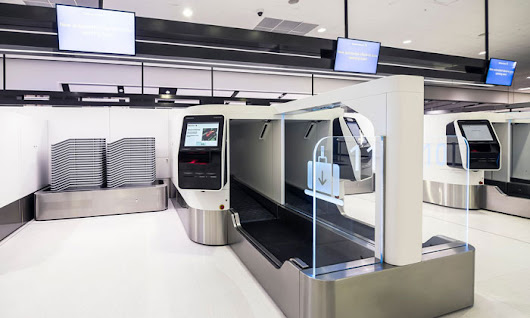Cutting-edge 3D scanning bag drops go live at Sydney Terminal 1