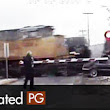 Woman Hits Train, Then Gets Hit By 2nd Train | Dash Cam Accidents