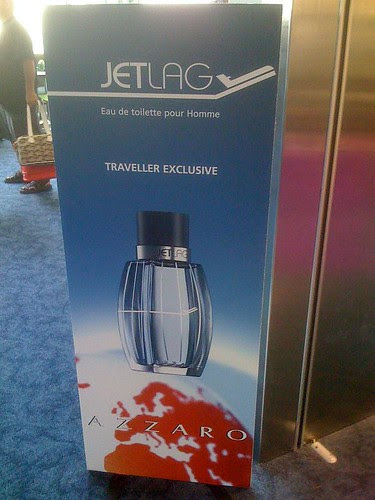 Jet Lag perfume poster