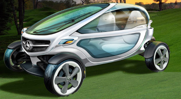 Mercedes Vision Golf Cart concept could shuttle you around the course in comfort