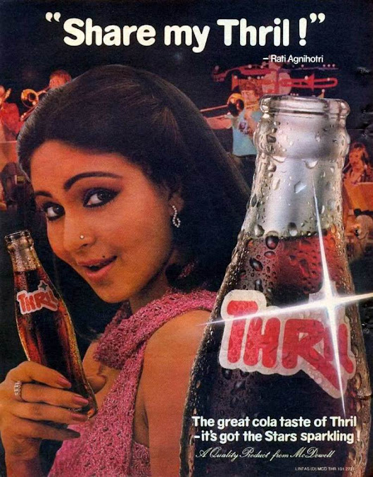 25 Vintage Ads Featuring Bollywood Celebrities