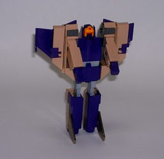 Transformers Blitzwing G1 - modo robot