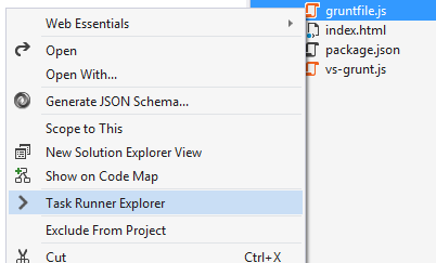 Introducing Gulp, Grunt, Bower, and npm support for Visual Studio - Scott Hanselman