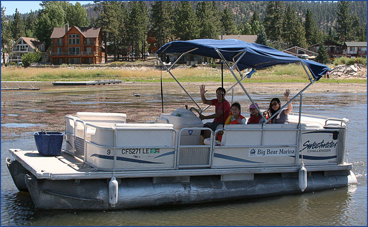 Happy Sea World Pontoon Boat For Rent
