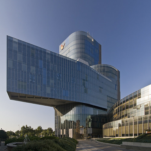 Gas Natural Office Building, Barcelona, Spain