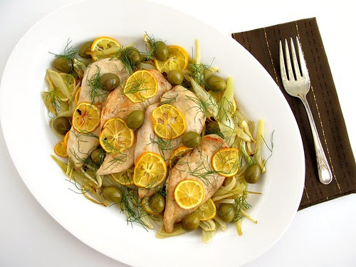 chicken with fennel