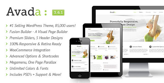 Avada v3.6.1 – Themeforest Responsive Multi-Purpose Theme