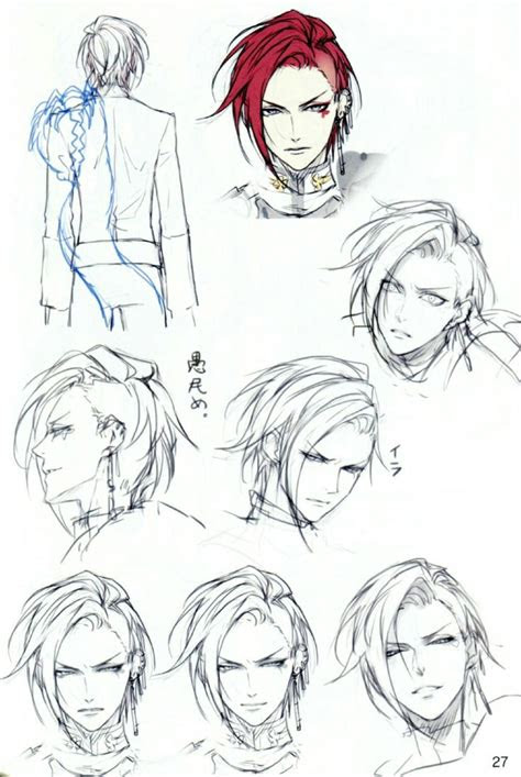 anime boy hairstyles ideas  pinterest