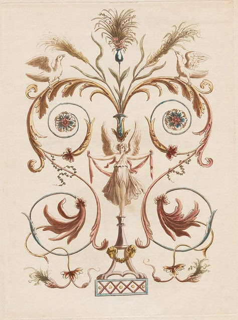 Nouvelle collection d'arabesques, 1810 c