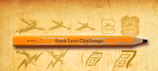 The Suck Less Challenge Contest - 2 Monthly Prizes for the winner - Cherry Pixel Productions