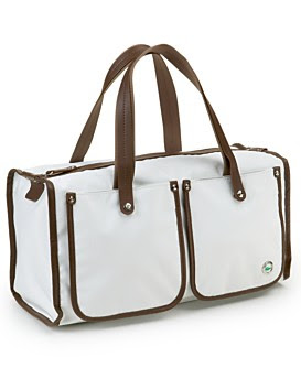 Lacoste Crocodelle Medium Boston Bag