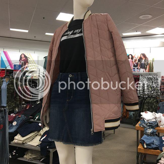 Arizona millennial pink bomber jacket