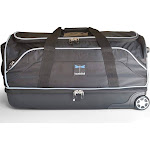 Travolution 28-Inch Wheeled Drop-Bottom Duffel with Garment Rack Black