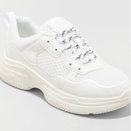 Women's Maybelle Bulky Sneakers - Wild Fable White 11