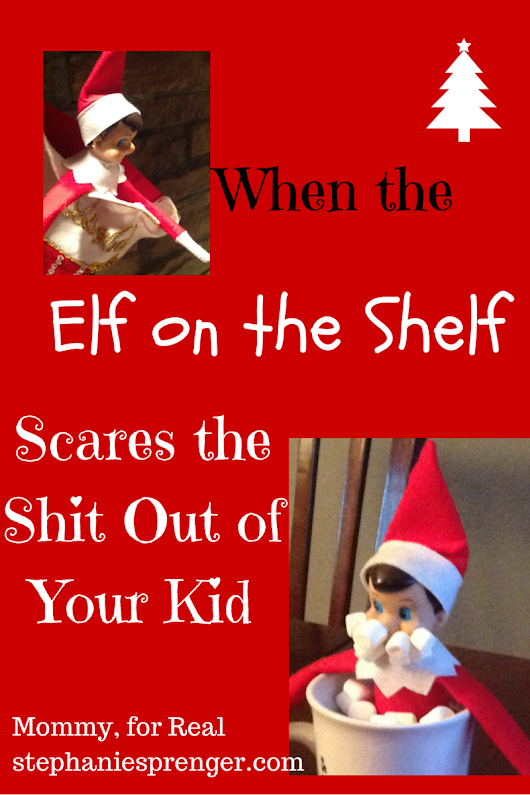 The Elf on the Shelf and the Anxious Child- A 12-Step Program - Mommy, For Real