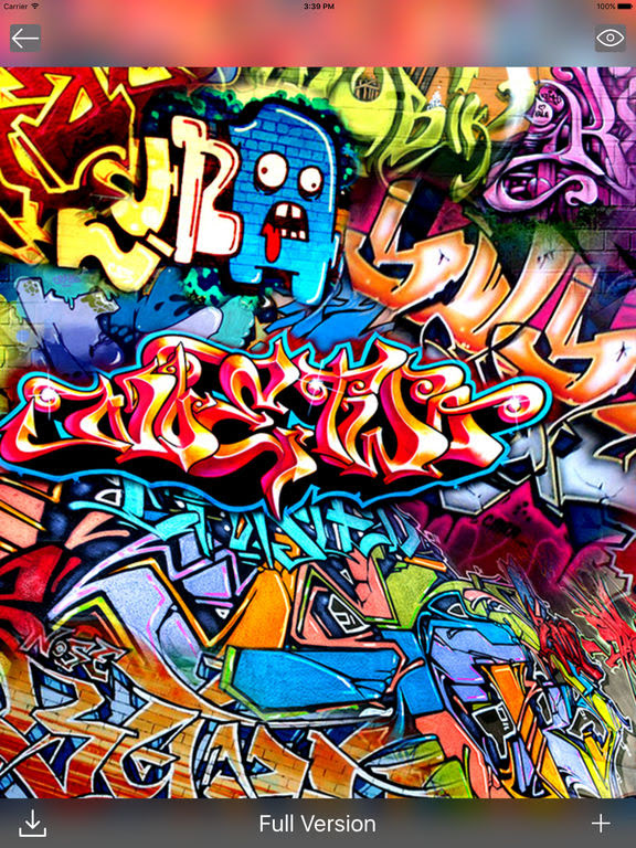 Graffiti Art Wallpapers - Cool Backgrounds Free app: insight & download.